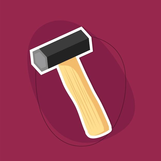 Ícone de ferramenta de martelo