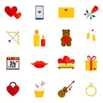 Ícone de ícone romântico