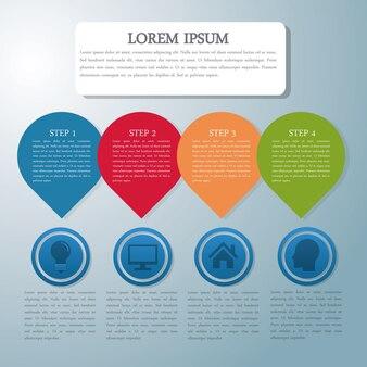 Ícone de infografia