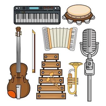 Ícone de instrumentos musicais