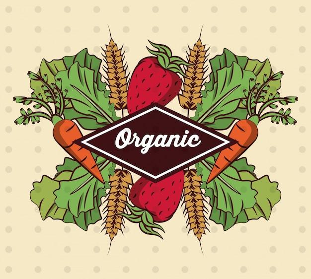 Ícone de legumes orgânicos