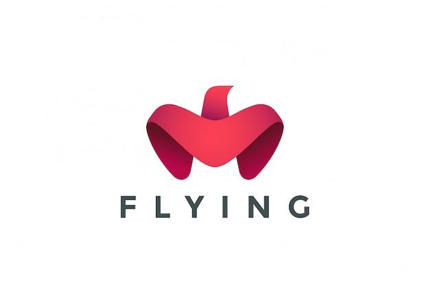 Ícone de logotipo de águia.