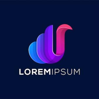 Ícone de logotipo de letra k abstrata pronto para usar