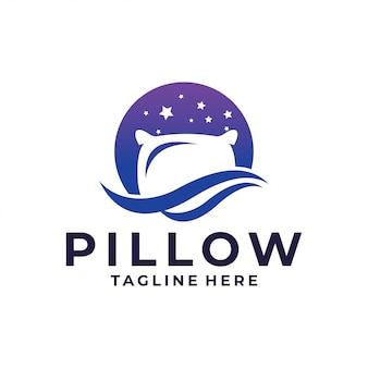 Ícone de logotipo de travesseiro