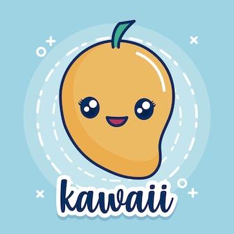 Ícone de manga kawaii