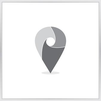 Ícone de mapa de ponteiro