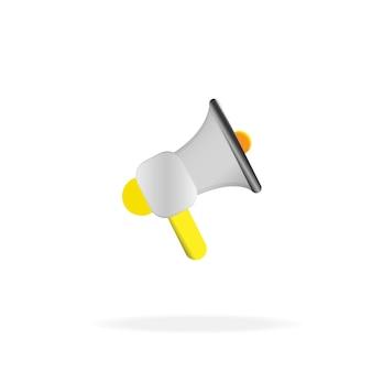 Ícone de megafone, alto-falante