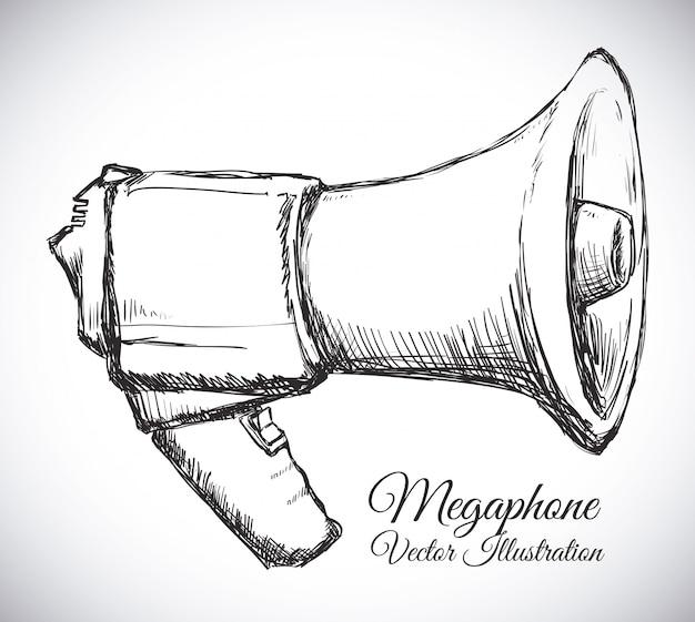 Ícone de megafone