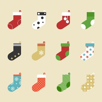 Ícone de meias coloridas