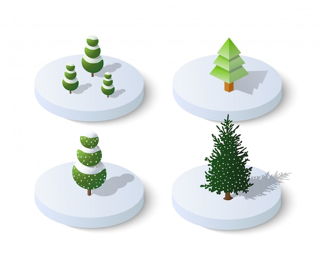 Ícone de natal nevado de inverno