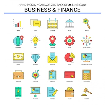 Ícone de negócios e finanças