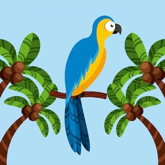 Ícone de pássaro arara