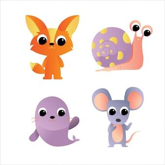 Ícone de personagem de animais
