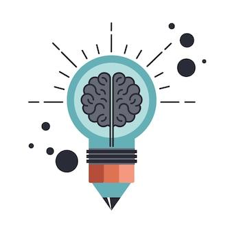 Ícone de pesquisa criativa