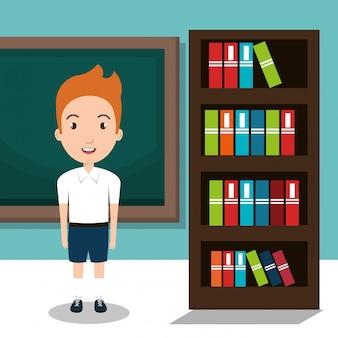 Ícone de professor de escola de estudante