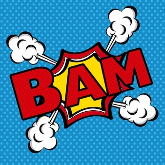 Ícone de quadrinhos bam