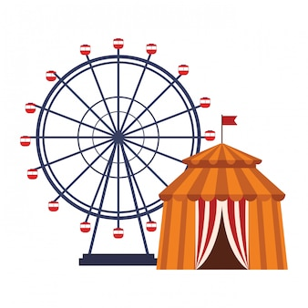 Ícone de roda de balsas