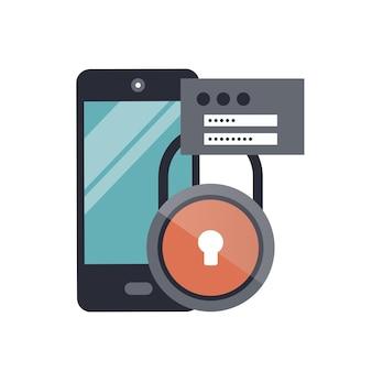 Ícone de segurança de dados