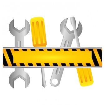 Ícone de serviço técnico de ferramentas