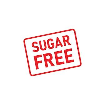 Ícone de símbolo livre de açúcar isolado no fundo branco. vetor. eps 10