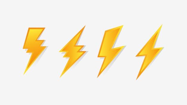 Ícone de trovão flash