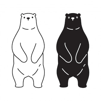 Ícone de urso polar