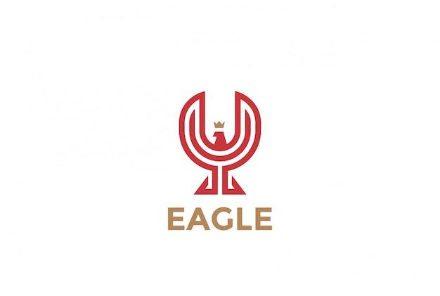 Ícone de vetor de eaglelogo.
