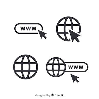 Ícone de www