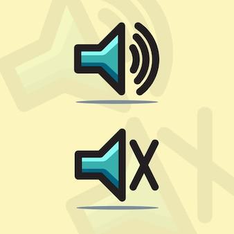 Ícone do alto-falante de som