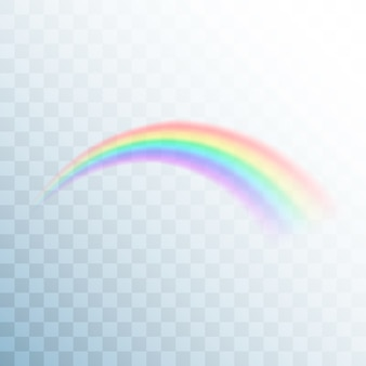 Ícone do arco-íris. arco-íris abstrato