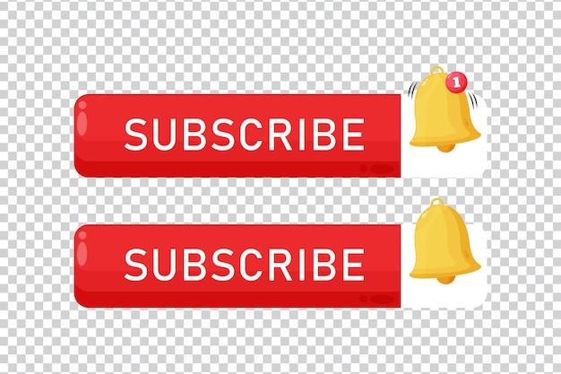 Ícone do botão de inscrição em fundo em branco