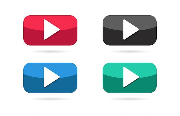 Ícone do botão play.