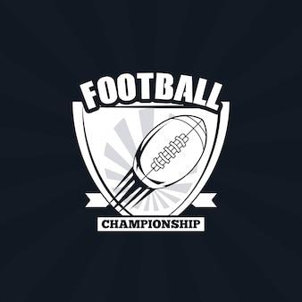 Ícone do campeonato de futebol