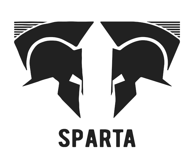 Ícone do capacete espartano