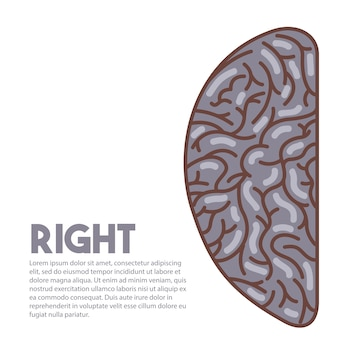 Ícone do cérebro humano