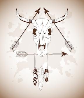 Ícone do crânio de touro