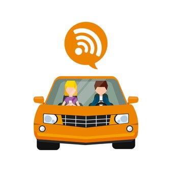 Ícone do design wi-fi