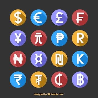 Ícone do dinheiro set