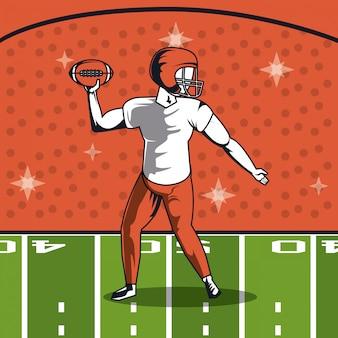 Ícone do jogador de futebol