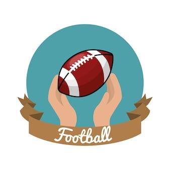 Ícone do jogo de futebol do emblema