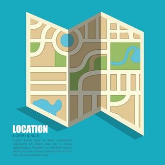 Ícone do local de design