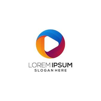 Ícone do logotipo colorido
