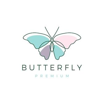 Ícone do logotipo da borboleta