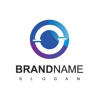 Ícone do logotipo da tubulação, encanamento e empresa de petróleo
