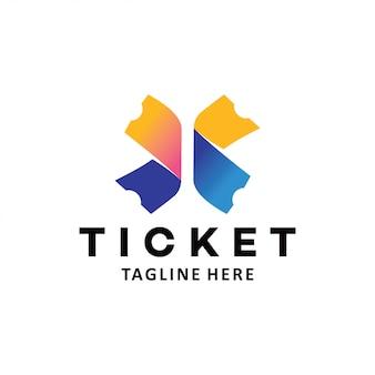 Ícone do logotipo do bilhete