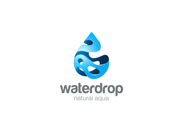 Ícone do logotipo. estilo de respingo.