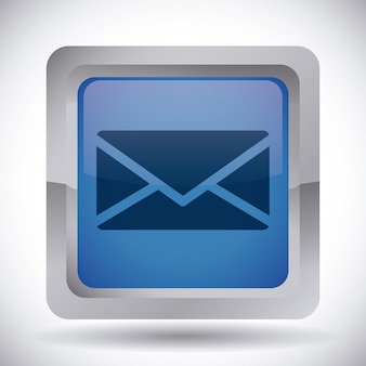 Ícone do mail design