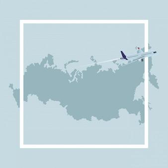 Ícone do mapa russo