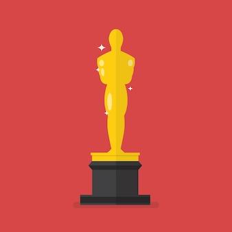 Ícone do prêmio da academia