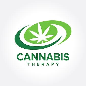 Ícone do tema da marijuana